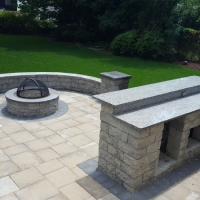 Outdoor Living Firepit Finished